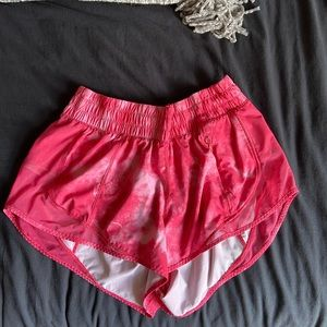 RARE lulu lemon hotty hot shorts